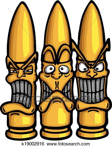 Clip Art - Angry funny bullets. Fotosearch - Search Clipart, Illustration  Posters, Drawings