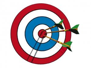 Bullseye clipart free clipart image