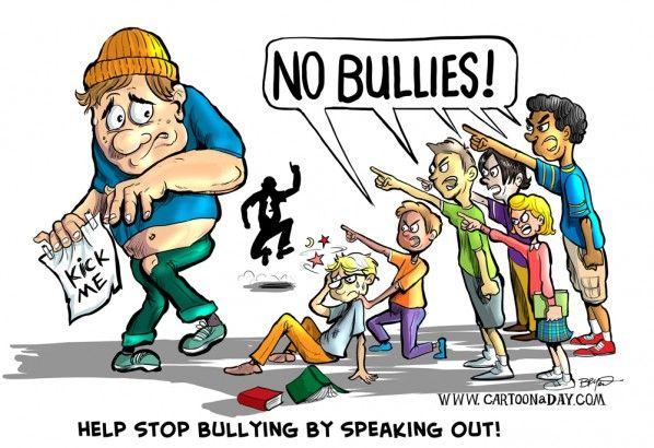 ... Bullying Clipart; Anti Bullying Cartoons Stop Bullying Cartoon Speak Up ...