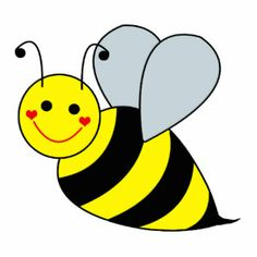 Bumble Bee Bee Clipart Image Brightly Co-Bumble bee bee clipart image brightly colored cartoon honey bee on the wing-8