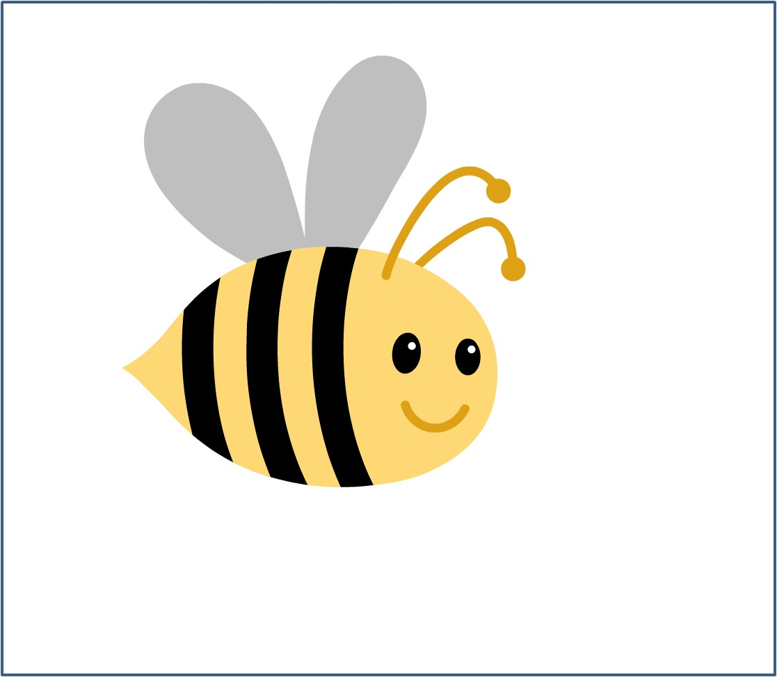 Bumble bee clip art 2
