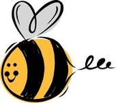Bumblebee Clipart Graphic .-Bumblebee Clipart Graphic .-14