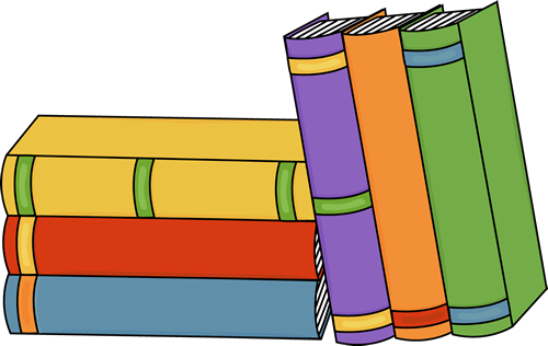 Bunch of Books - Clip Art Of Books