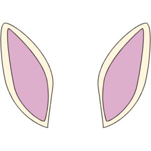 Bunny Ears Clip Art - .