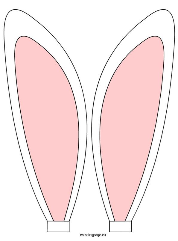 Bunny Ears Coloring Page-Bunny Ears Coloring Page-4