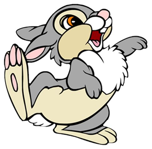 Bunny PNG Cartoon Free Clipart