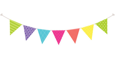 Bunting clip art - ClipartFest