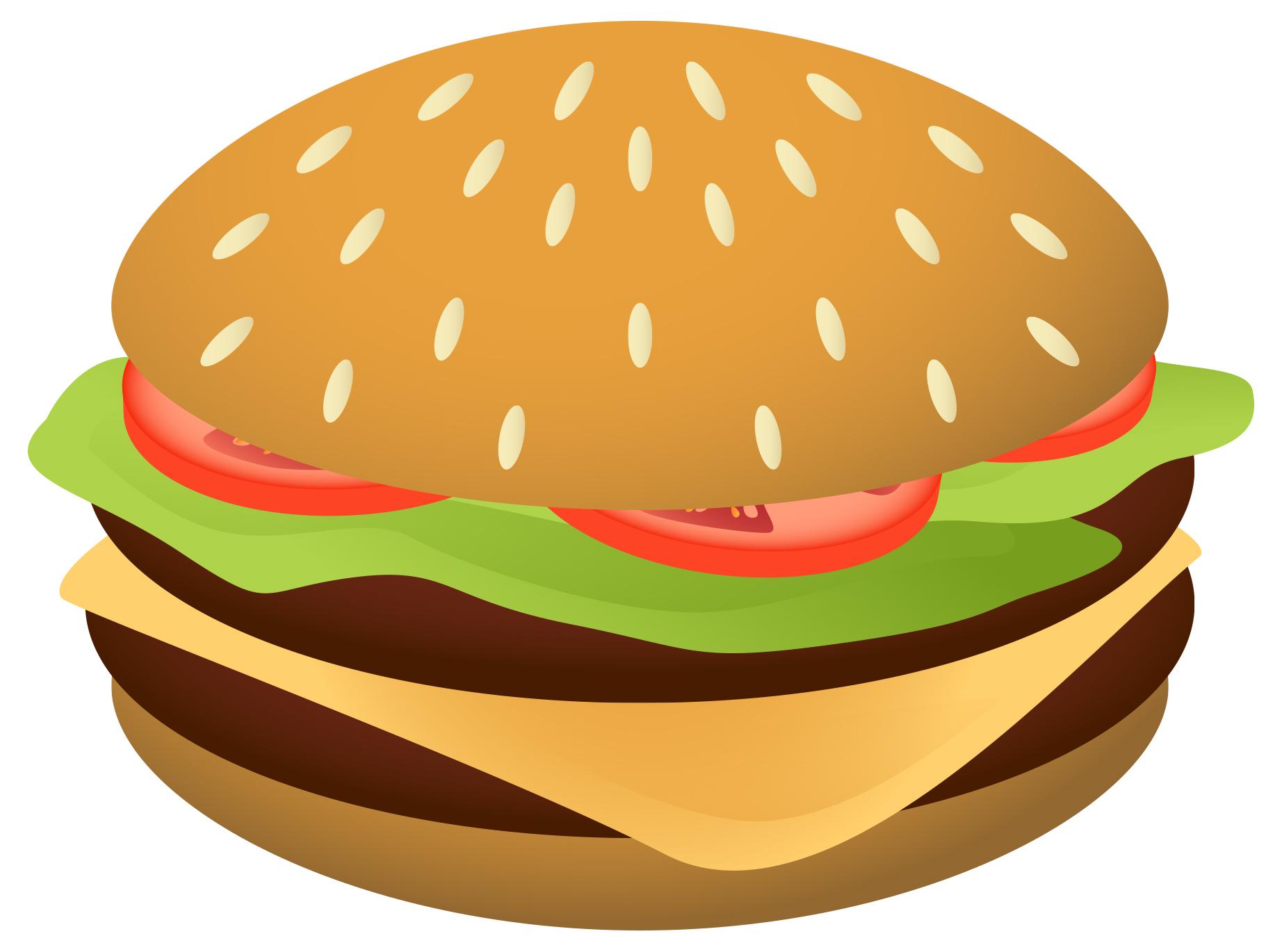 Burger Clipart-Burger Clipart-3