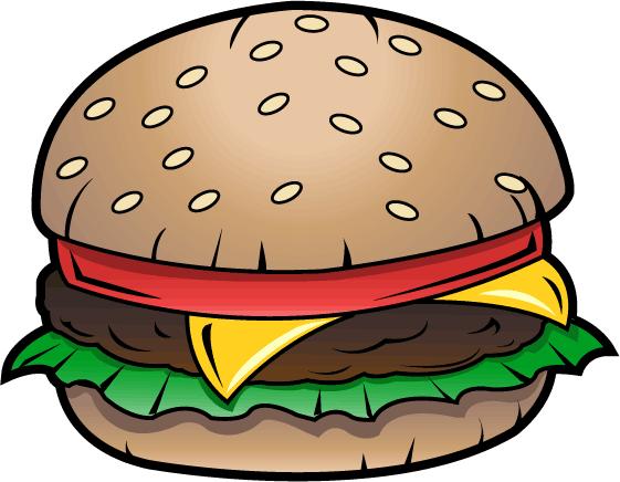 Burger Clipart-Burger Clipart-1