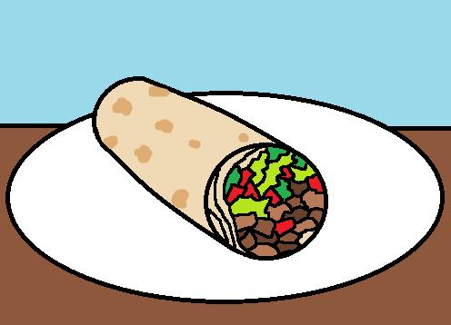 Burrito Clipart Blurrito Png