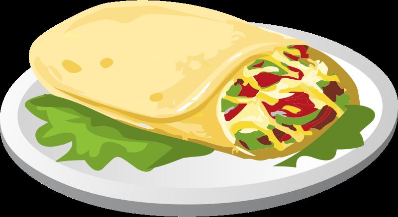 Burrito Clipart. Burrito cliparts