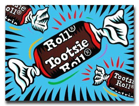 Burton Morris ~ Tootsie Roll Pop Art-Burton Morris ~ Tootsie Roll pop art-1