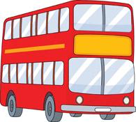 bus transportation clipart. Size: 78 Kb