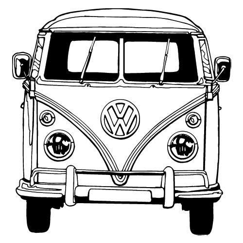 Bus Coloring Pages Vw Bus Coloring Pages-Bus Coloring Pages Vw Bus Coloring Pages ...-16