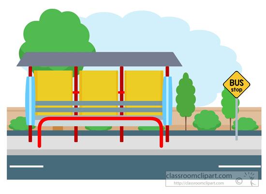 Bus Station Clip Art