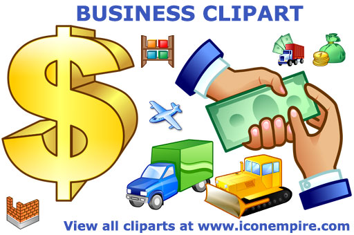 Business Clipart by Ikonod ClipartLook.com