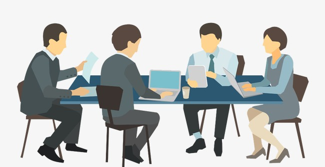 business people meeting, Business, Business Meeting, Office PNG Image and  Clipart