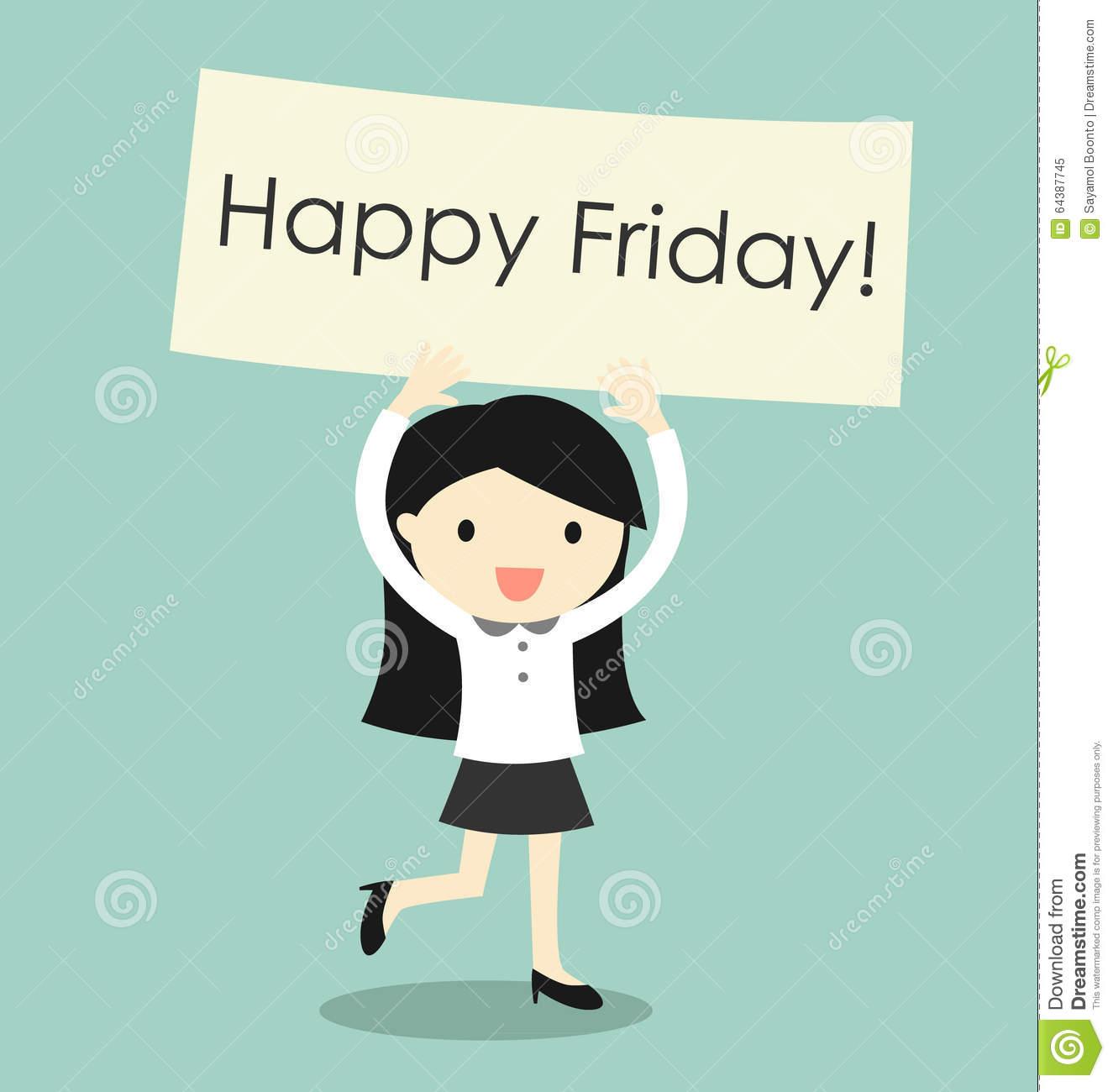 Clipart Happy Friday