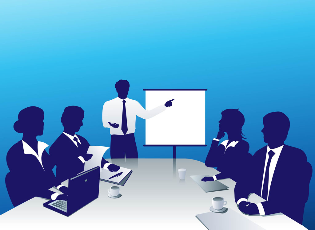 Business Conference Clipart #1