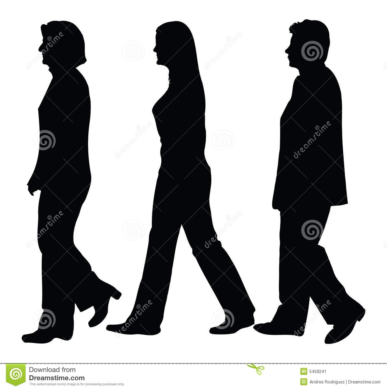 Business People Walking .