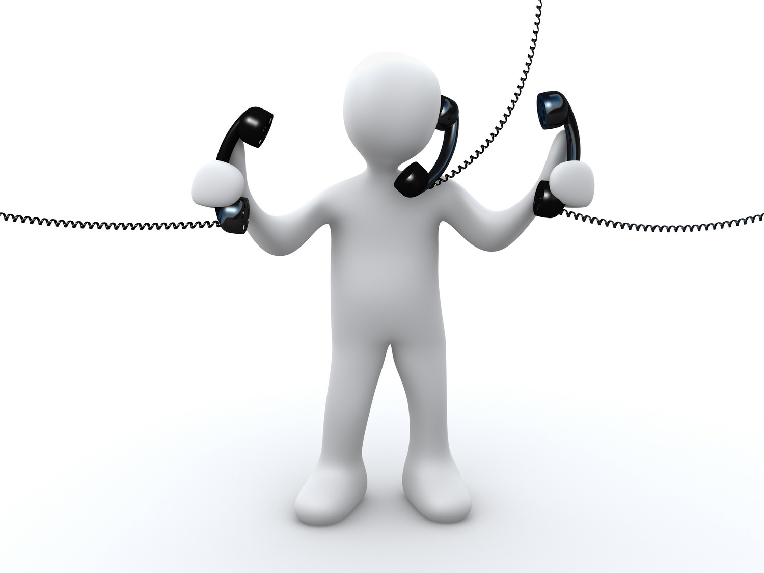 Business Phone Call Clipart