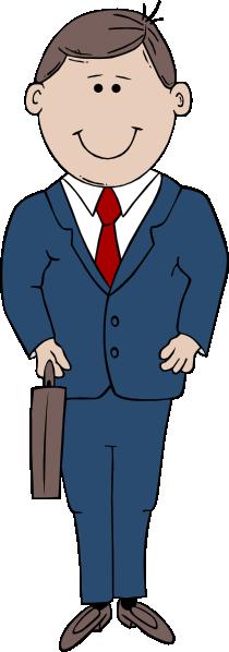 Businessman Cartoon Clip Art At Clker Com Vector Clip Art Online