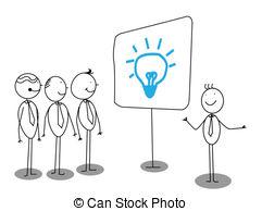 ... Businessman Presentation about idea Businessman Presentation Clip Artby ...