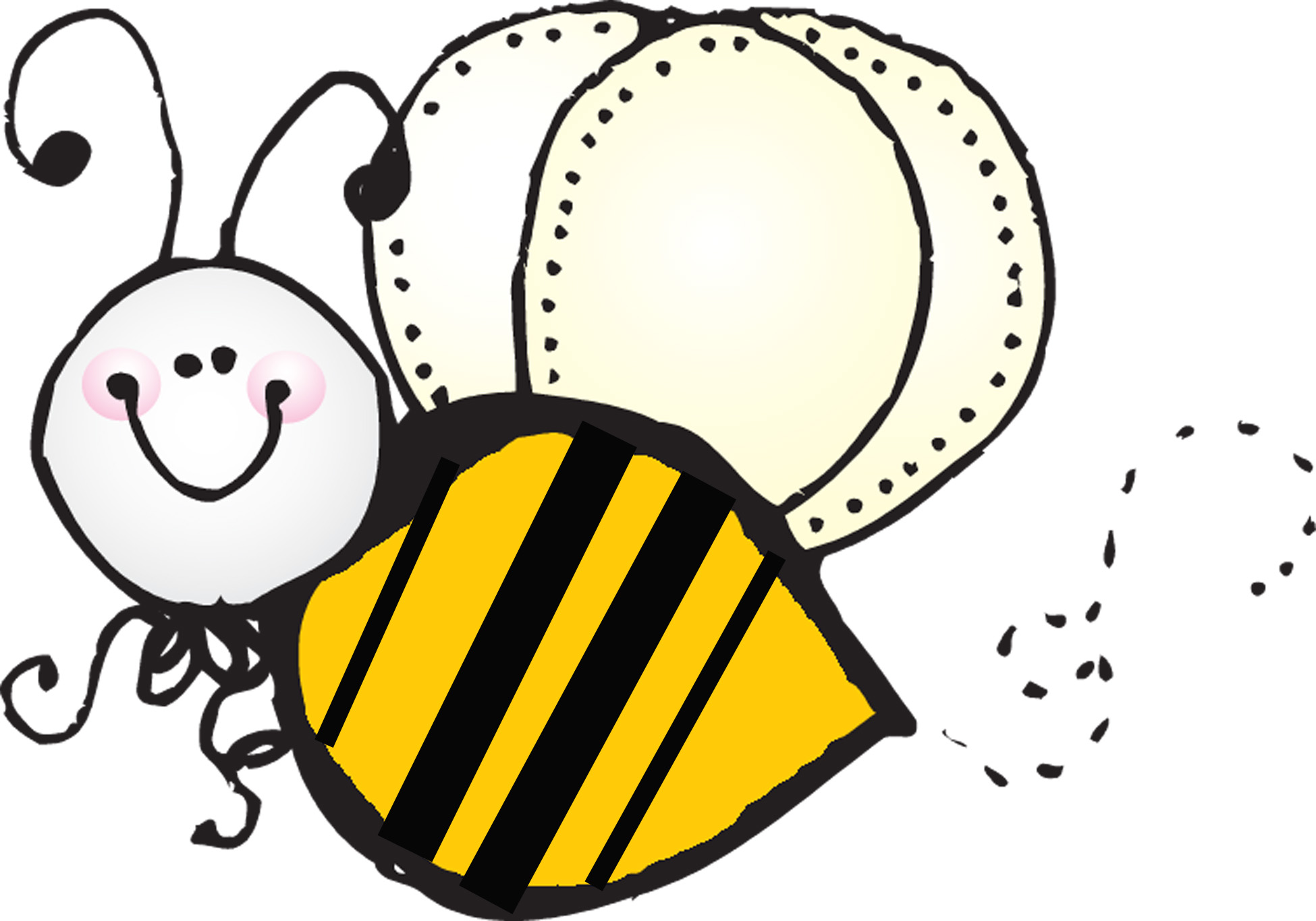 busy bee clipart