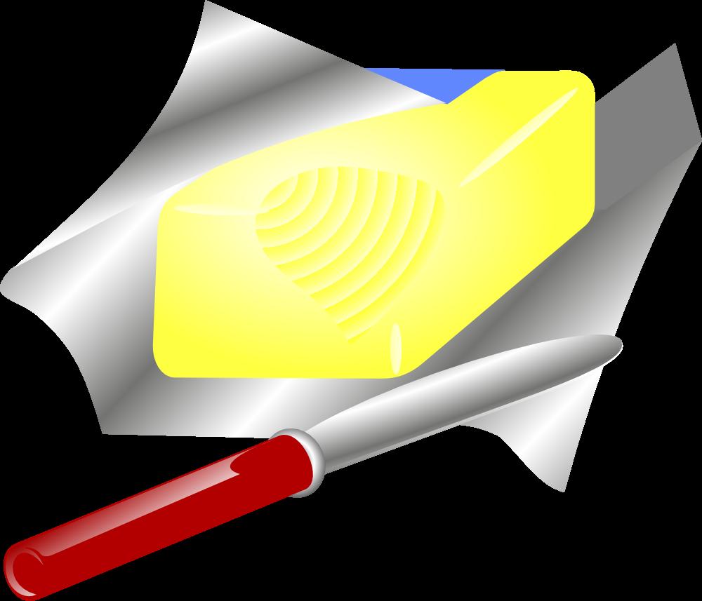 butter clipart