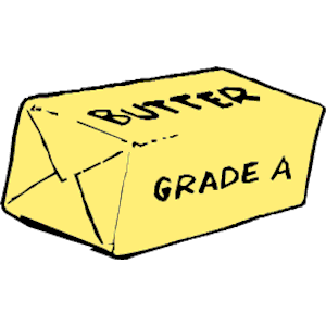 Butter clipart, cliparts of .