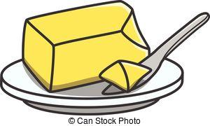 ... Butter doodle illustration