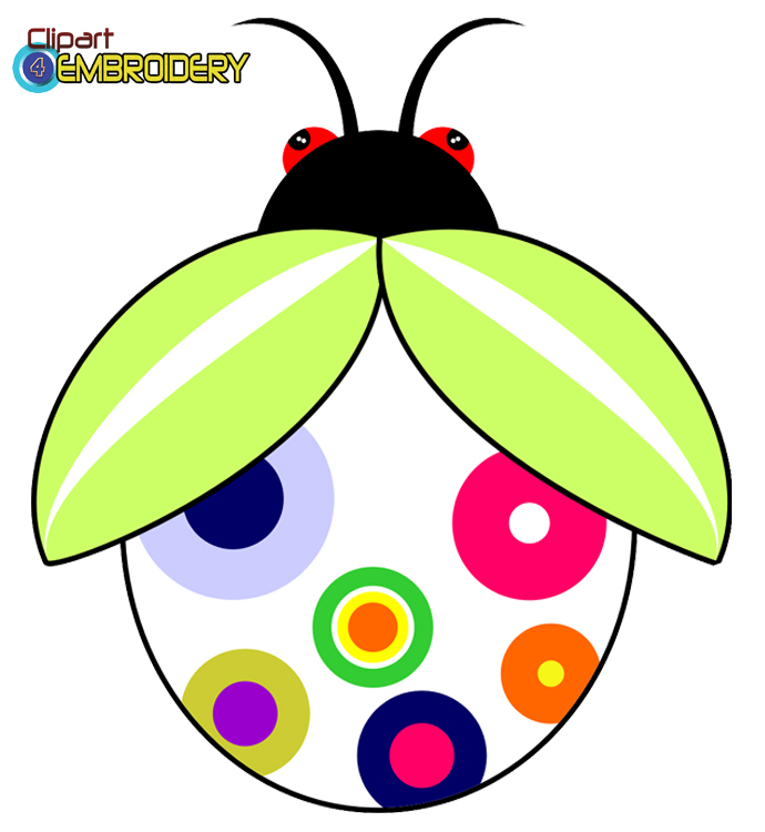 Butterflies Bugs : Clipart For Embroider-Butterflies Bugs : Clipart for embroidery, Assorted high quality-8