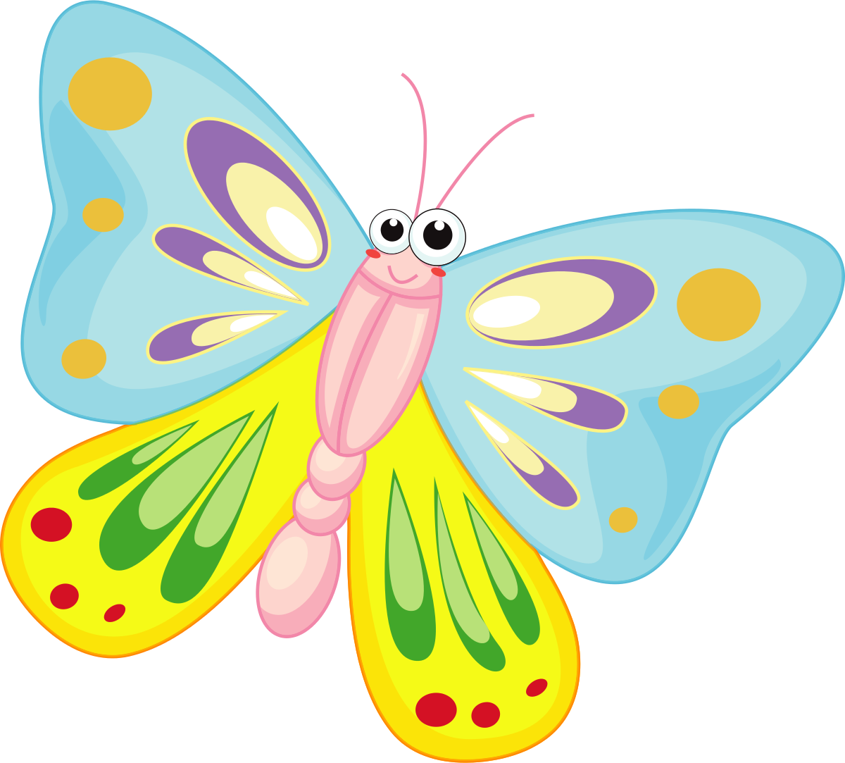 Butterflies clip art clipartall 3