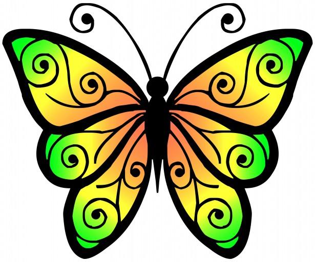 Butterfly Clip Art-Butterfly Clip Art-5