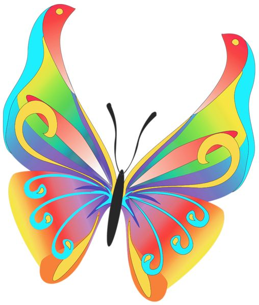 Butterfly Art PNG Clipart