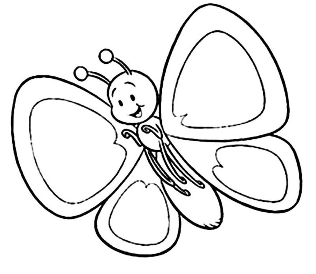Butterfly Black And White Cute Butterfly-Butterfly black and white cute butterfly clipart black and white-5