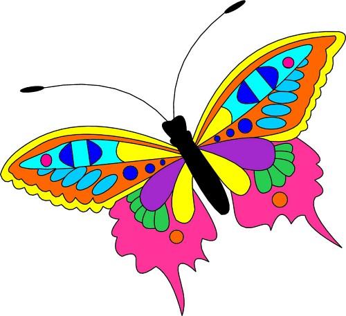 Butterfly Clip Art 3