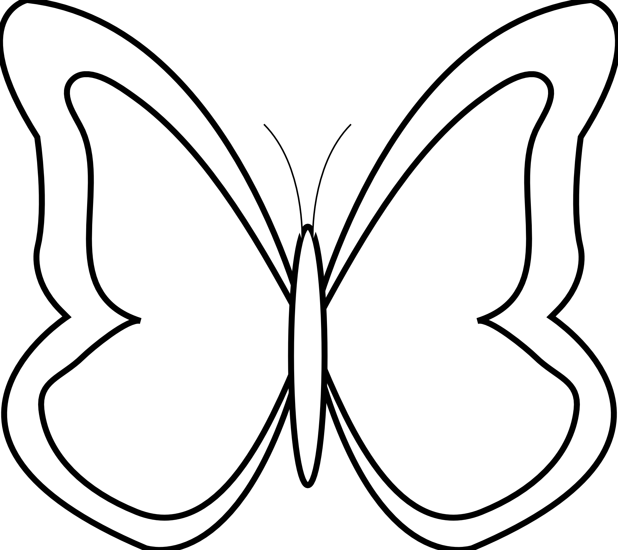 Butterfly Clip Art Black And White Id Bu-Butterfly Clip Art Black And White Id Buzzerg-10