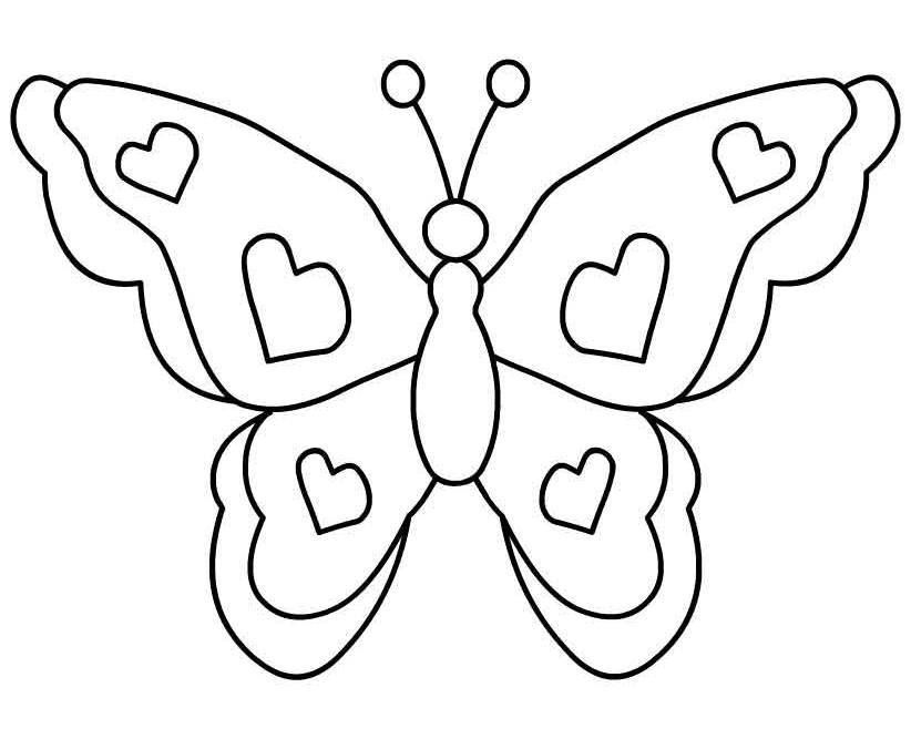 Butterfly Clipart Black And ..