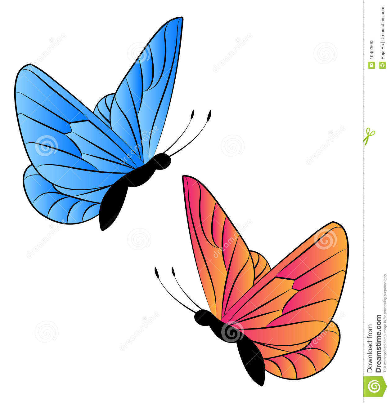 butterfly clipart-butterfly clipart-14