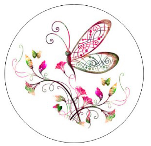 Butterlfy Whimsical Clip Art