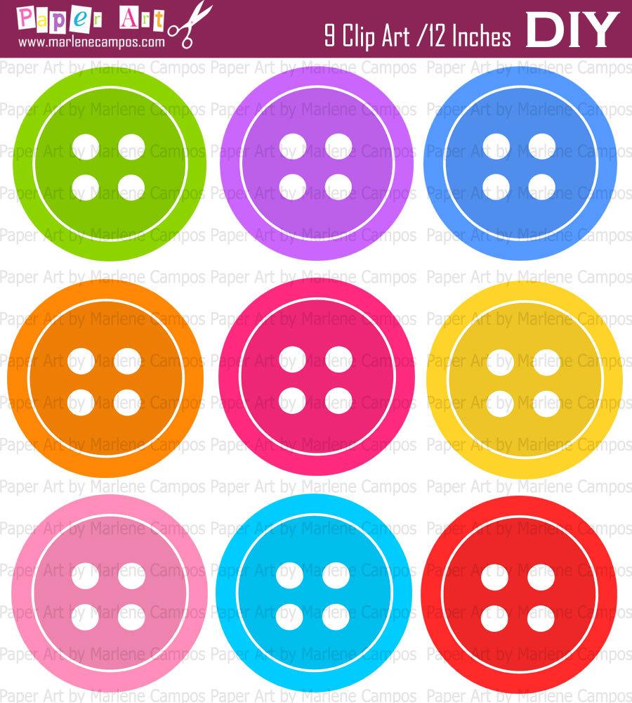 button clipart - Buttons Clipart