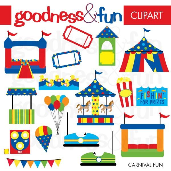 Buy 2, Get 1 FREE - Carnival  - Clip Art Carnival