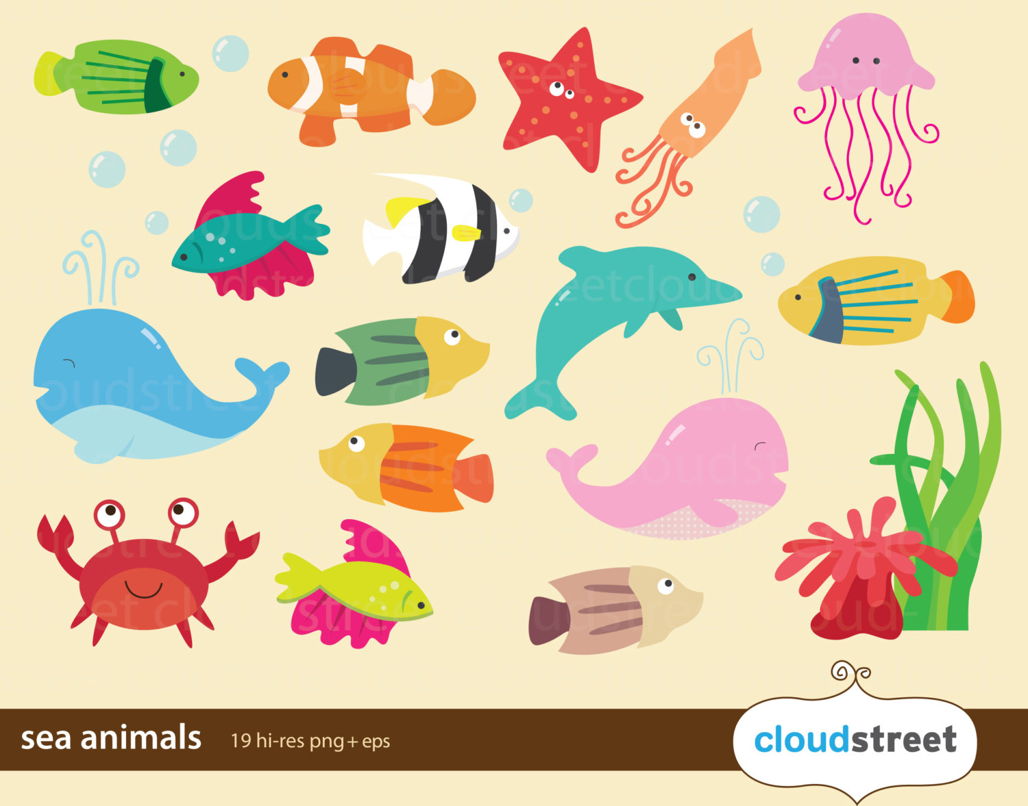 Buy 2 Get 1 Free Sea Animal .-buy 2 get 1 free sea animal .-4