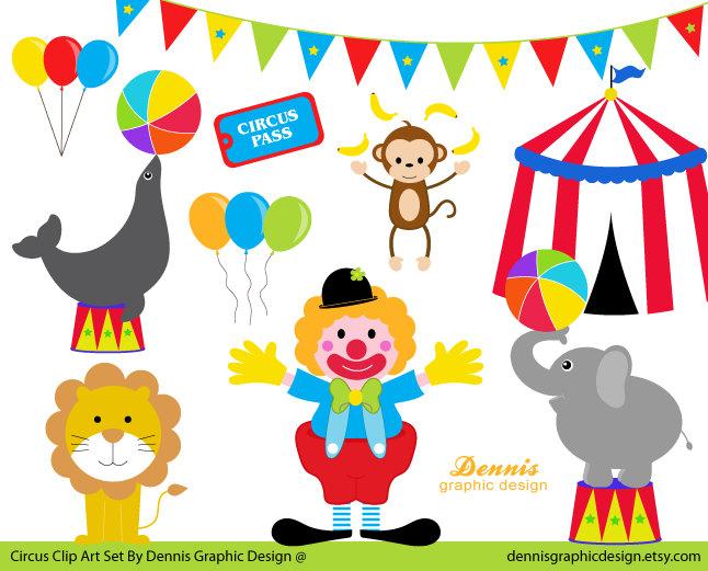 Buy 2 Get 2 Free Circus Clip Art Set By -Buy 2 Get 2 Free Circus Clip Art Set By Dennisgraphicdesign-11