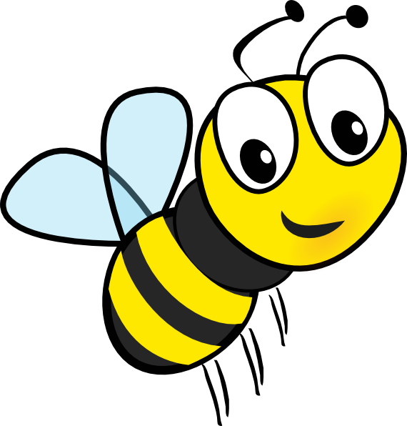 Buzzing Bee Clipart Free Clipart Images-Buzzing bee clipart free clipart images-6