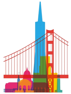 By C Freedom San Francisco . - San Francisco Clip Art