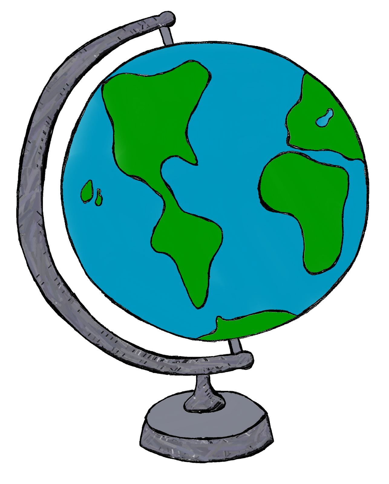 By Carrie Teaching First My World Doodles Clip Art And Freebie Globe