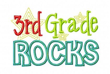 By Category Back To School Third Grade Rocks