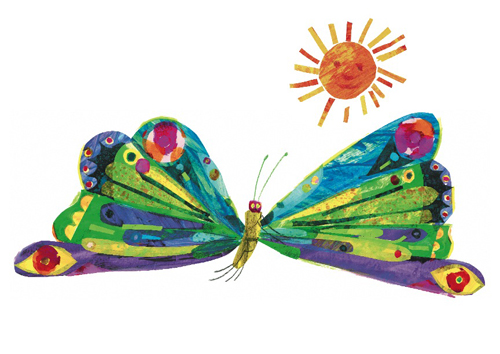 by Eric Carle. Butterfly Postcard-by Eric Carle. Butterfly Postcard-13